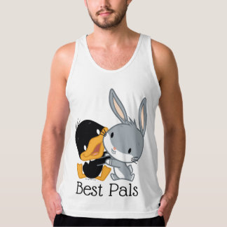 Chibi DAFFY DUCK™ & BUGS BUNNY™ Tank Top