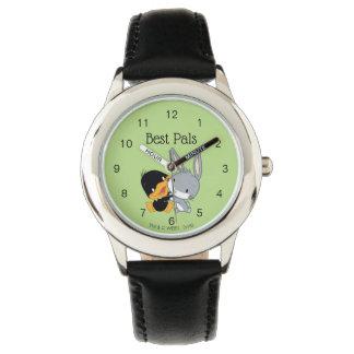 Chibi DAFFY DUCK™ & BUGS BUNNY™ Watch