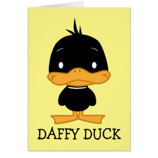 Chibi DAFFY DUCK™ Card