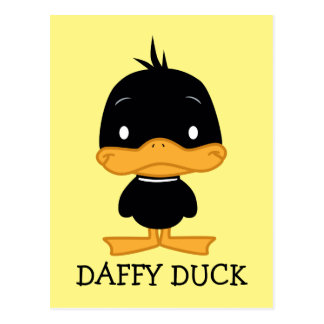 Chibi DAFFY DUCK™ Postcard