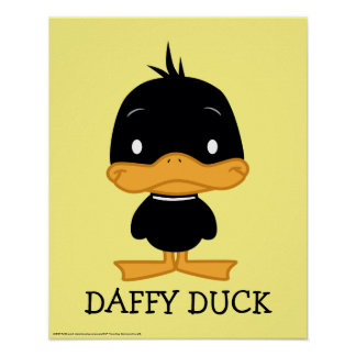Chibi DAFFY DUCK™ Poster