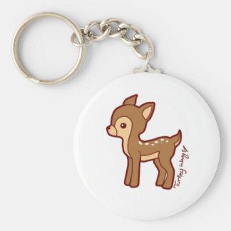 chibi deer keychain