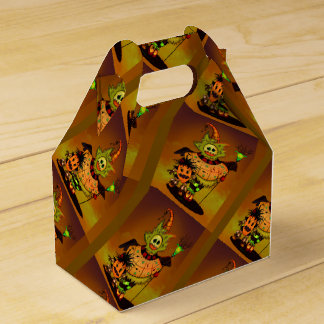 CHIBI DOLLS GIFT BOX GABLE HALLOWEEN Monsters Party Favor Boxes