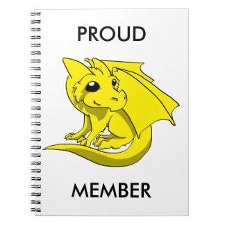 Chibi Dragon Notebook