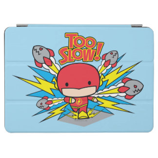 Chibi Flash Outrunning Rockets iPad Air Cover