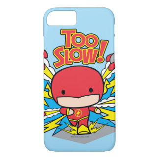 Chibi Flash Outrunning Rockets iPhone 8/7 Case