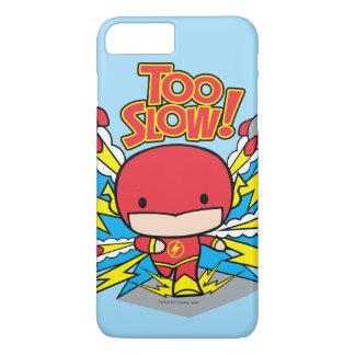 Chibi Flash Outrunning Rockets iPhone 8 Plus/7 Plus Case