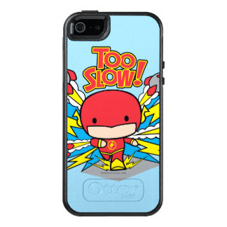 Chibi Flash Outrunning Rockets OtterBox iPhone 5/5s/SE Case