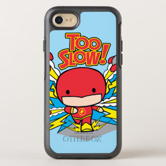 Chibi Flash Outrunning Rockets OtterBox Symmetry iPhone 8/7 Case