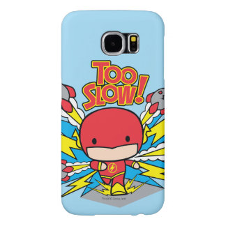 Chibi Flash Outrunning Rockets Samsung Galaxy S6 Cases