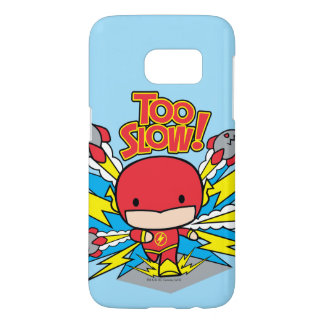 Chibi Flash Outrunning Rockets Samsung Galaxy S7 Case
