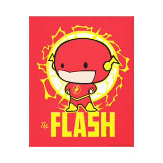 Chibi Flash With Electricity Canvas Print