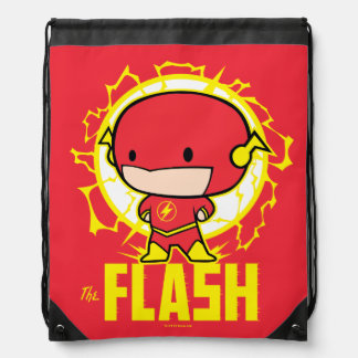 Chibi Flash With Electricity Drawstring Bag
