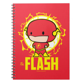 Chibi Flash With Electricity Notebook