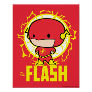 Chibi Flash With Electricity Poster