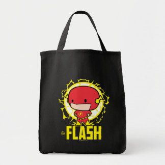 Chibi Flash With Electricity Tote Bag