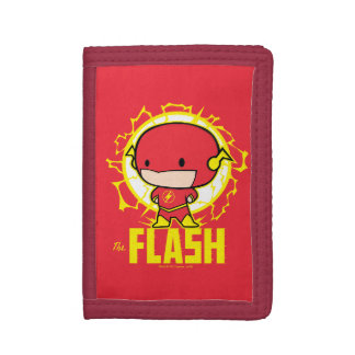 Chibi Flash With Electricity Tri-fold Wallets