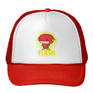 Chibi Flash With Electricity Trucker Hat