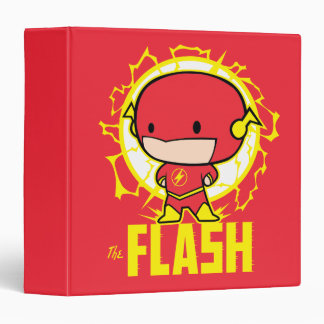 Chibi Flash With Electricity Vinyl Binder