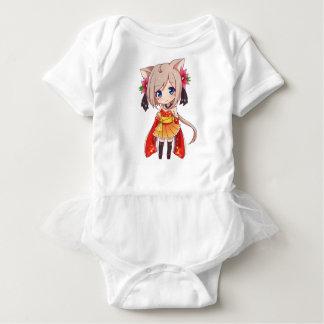 Chibi Fox Girl Baby Bodysuit