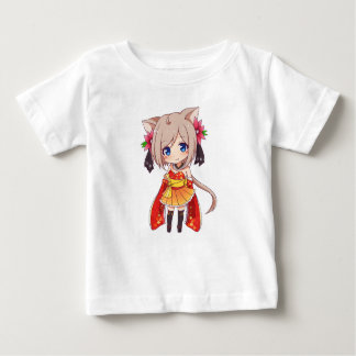 Chibi Fox Girl Baby T-Shirt