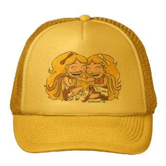 Chibi Gemini (distressed) Trucker Hat