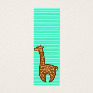 Chibi Giraffe Bookmark Mini Business Card