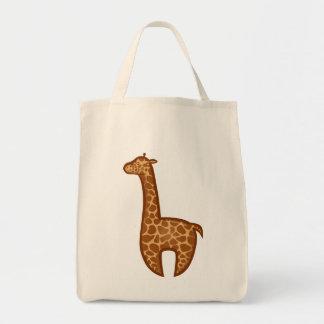 Chibi Giraffe Tote Bag