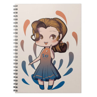Chibi Girl Notebooks