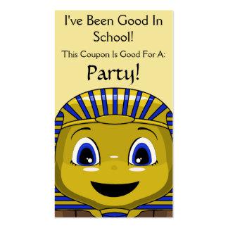 Chibi Golden Sphinx Business Card