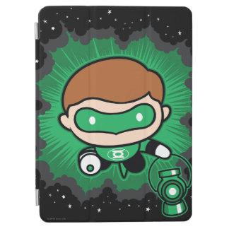 Chibi Green Lantern Flying Through Space iPad Air Cover