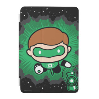 Chibi Green Lantern Flying Through Space iPad Mini Cover
