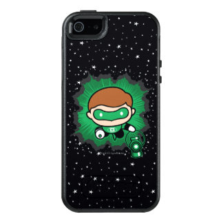 Chibi Green Lantern Flying Through Space OtterBox iPhone 5/5s/SE Case