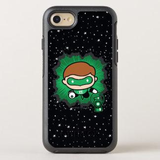 Chibi Green Lantern Flying Through Space OtterBox Symmetry iPhone 8/7 Case