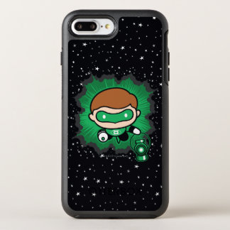 Chibi Green Lantern Flying Through Space OtterBox Symmetry iPhone 8 Plus/7 Plus Case
