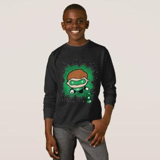Chibi Green Lantern Flying Through Space T-Shirt