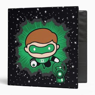 Chibi Green Lantern Flying Through Space Vinyl Binder
