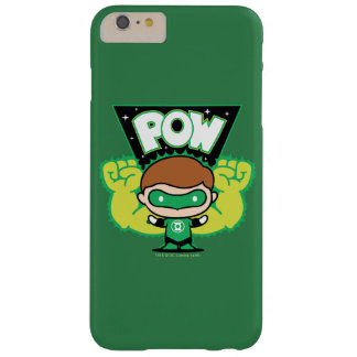 Chibi Green Lantern Forming Giant Fists Barely There iPhone 6 Plus Case