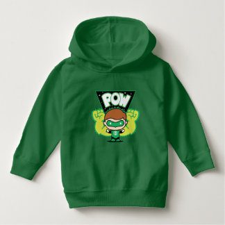 Chibi Green Lantern Forming Giant Fists Hoodie