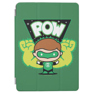 Chibi Green Lantern Forming Giant Fists iPad Air Cover
