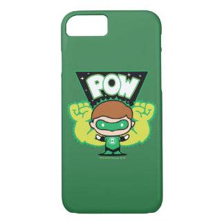 Chibi Green Lantern Forming Giant Fists iPhone 7 Case