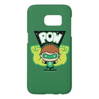 Chibi Green Lantern Forming Giant Fists Samsung Galaxy S7 Case