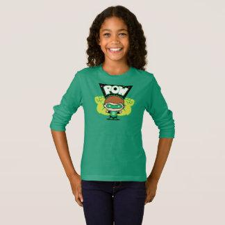 Chibi Green Lantern Forming Giant Fists T-Shirt