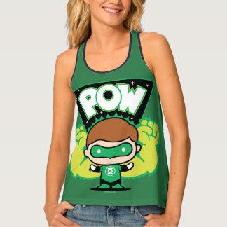 Chibi Green Lantern Forming Giant Fists Tank Top