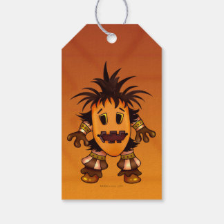 CHIBI  HALLOWEEN MONSTER  GIFT TAG PACK OF GIFT TAGS