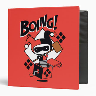 Chibi Harley-Quinn-In-A-Box With Hammer Binders