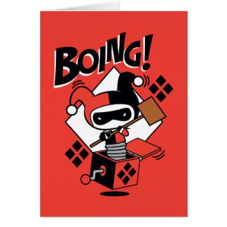 Chibi Harley-Quinn-In-A-Box With Hammer Card
