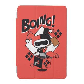 Chibi Harley-Quinn-In-A-Box With Hammer iPad Mini Cover