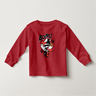 Chibi Harley-Quinn-In-A-Box With Hammer Toddler T-shirt