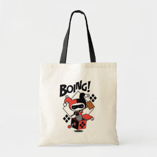 Chibi Harley-Quinn-In-A-Box With Hammer Tote Bag